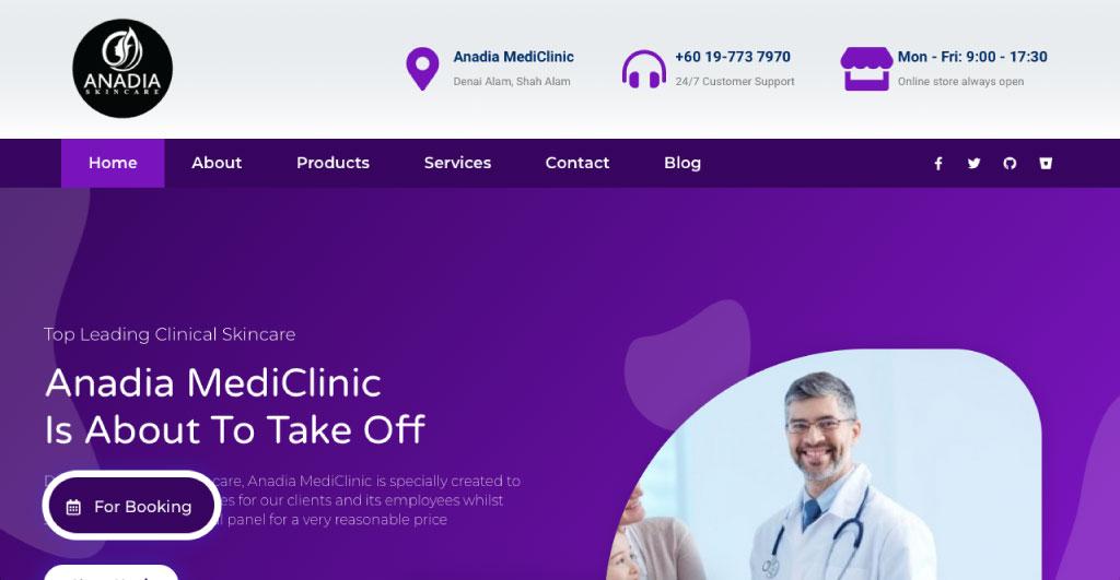 Web Design Malaysia Eight-Global-Anadia-Mediclinic