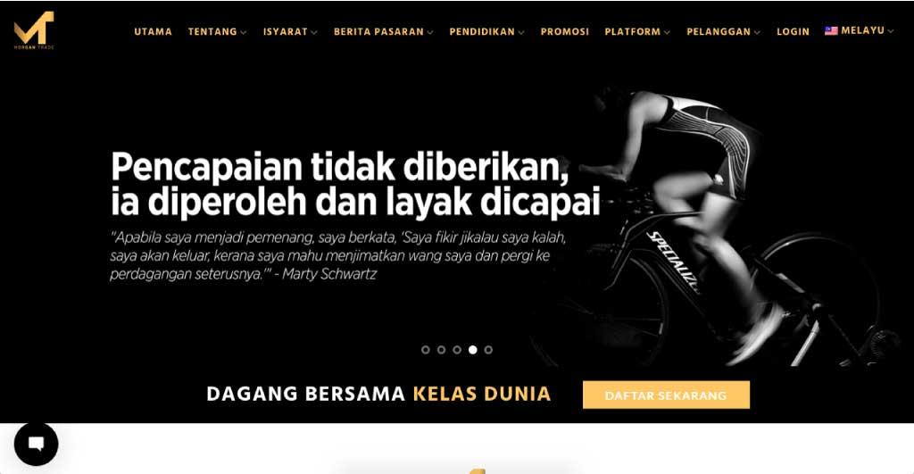 Web Design Malaysia Eight-Global-The-Morgan-Trade